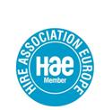 Proud Member of Hire Association Europe